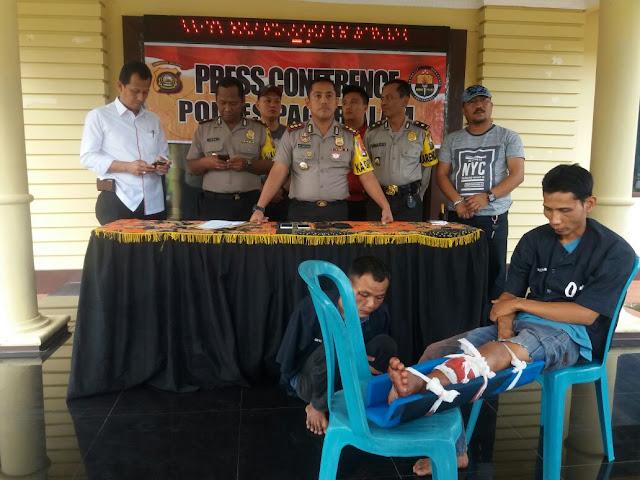 Komplotan Copet Lintas Provinsi Dibekuk Polres Pagaralam