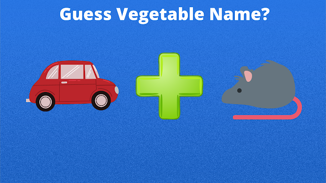 guess the vegetable name by emoji with answers
