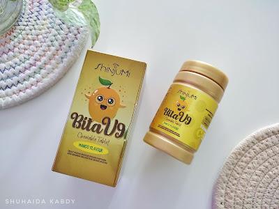 Shinjumi Bita V9 Vitamin C Untuk Kulit Cantik dan Sihat