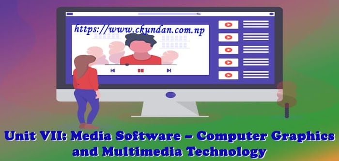 Unit VII: Media Software – Computer Graphics and Multimedia Technology