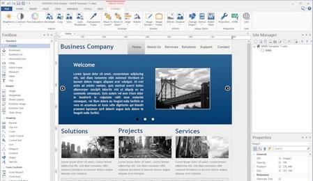 WYSIWYG Web Builder Download Grátis