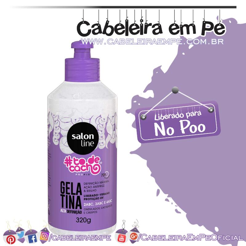 Gelatina Alta Definição #todecacho Profix - Salon Line (No Poo)