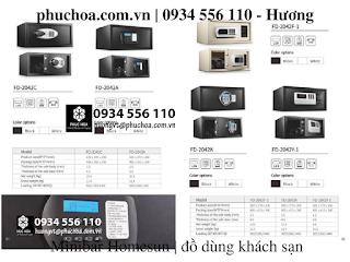 minibar két sắt khách sạn