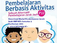 Download Modul Pembelajaran Jarak Jauh SMP/MTs Semester 2 Kurikulum 2013