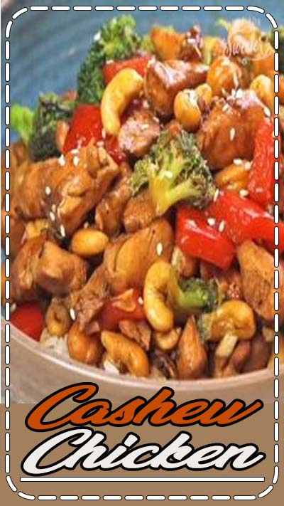 Cashew Chicken is an easy 25 minute guilt-free, skinny version of the popular classic Chinese takeout dish. Best of all, this healthy cashew chicken recipe comes together in one pan and is perfect for busy weeknights and Sunday meal prep!