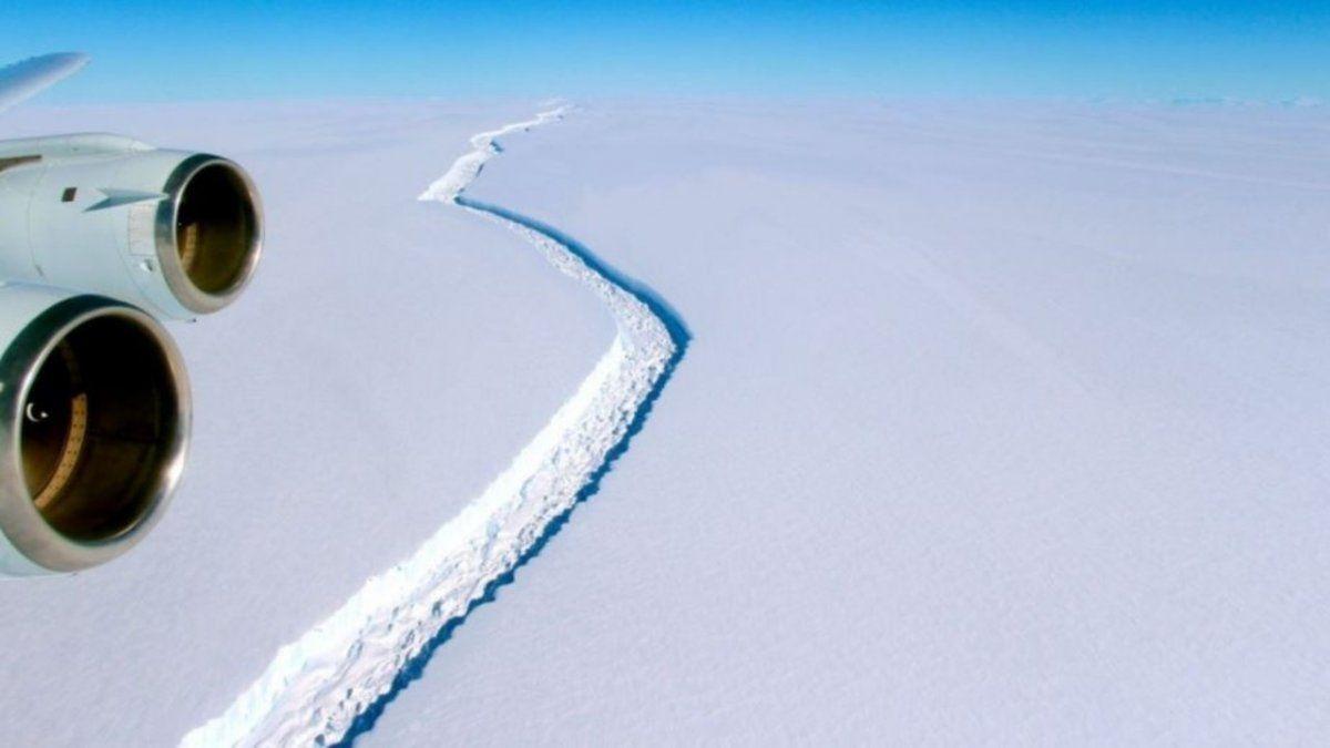 #Vídeo | Un enorme iceberg, del doble del tamaño de Madrid, se desprende de la Antártida