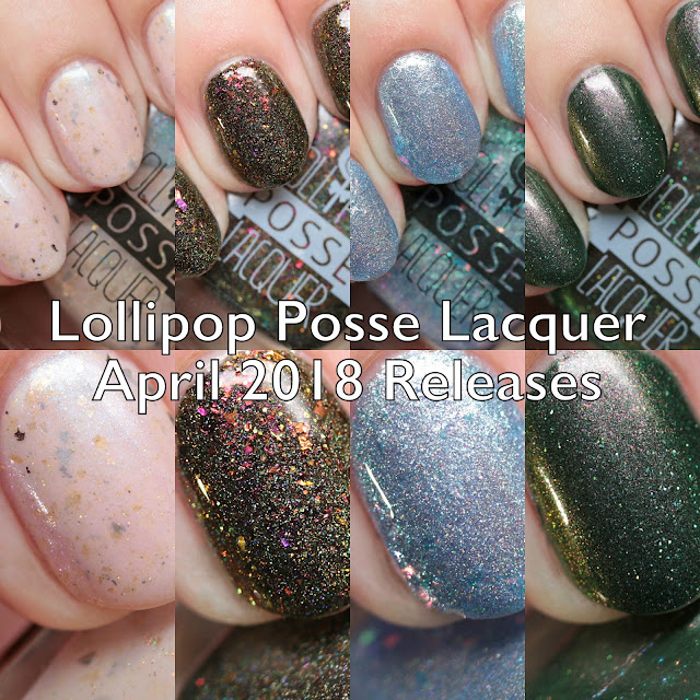 Lollipop Posse Lacquer The Year of Tarot: April 2018 and Limited Edition