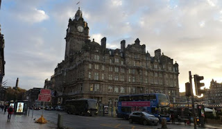 Edimburgo. Princes Street.