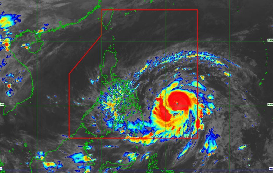 Typhoon Bising PAGASA weather update April 17, 2021
