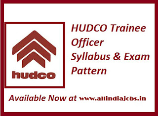 HUDCO Trainee Officer Syllabus 2017