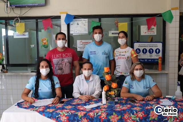Professores que atuam no município de Acauã são vacinados contra Covid-19