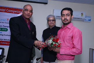 Felicitation of Darshan Kothari CEO Vardhaman Infotech-Curecity