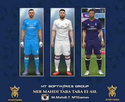 PES 2016 Real Madrid 2016-17 By MT GAMES 1991
