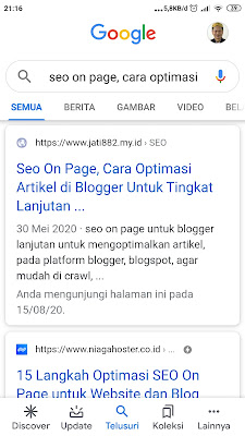 Seo on page