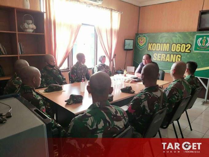 Dandim 0602 Serang Berikan Arahan, Anggotanya Yang Diktukba Reg Sus