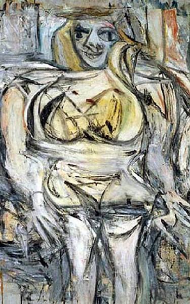 """Willem de Kooning - """"Mulher III"""