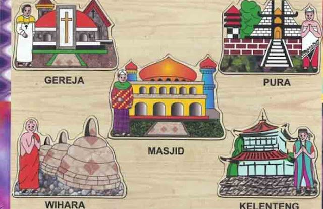 Tempat Ibadah Agama di Indonesia