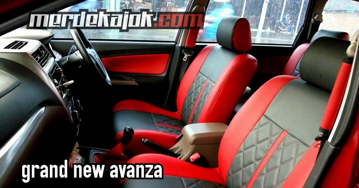 Cover Jok Grand New Avanza Toyota Yaris Trd 2015 Bekas Mobil Malang Merdekajok Xenia Series Bakled Permanent