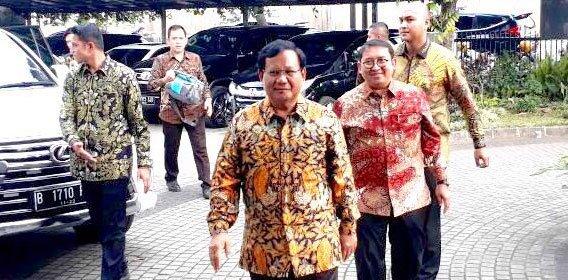 Bersama PKS, Prabowo Cari Jalan Terbaik