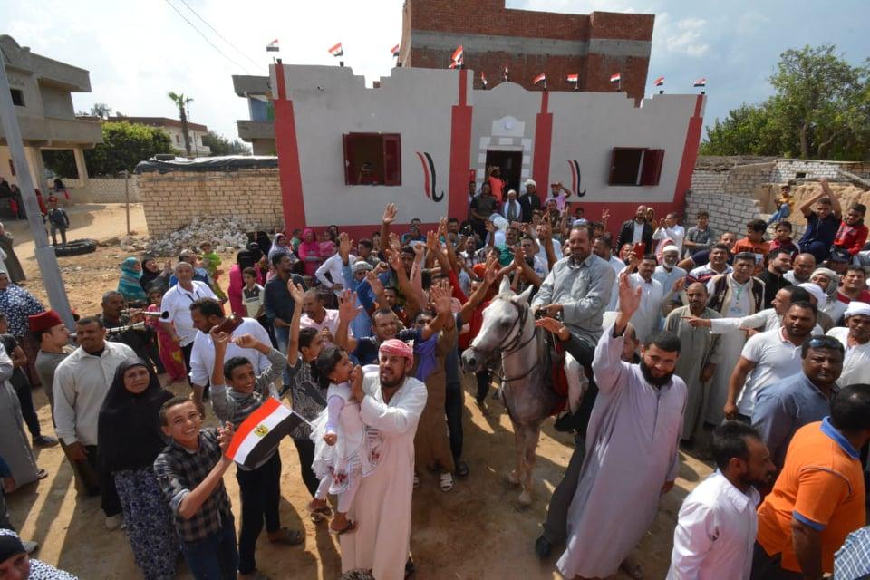 بالصور .. تسليم 50 منزل بمركز أبو المطامير بعد إعادة تأهيلها وتشطيبها بتكلفة 2 مليون و500 ألف جنية