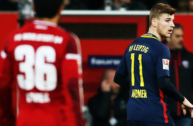 Noite pouca inspirada tirou a invencibilidade e a liderança do RB Leipzig na Bundesliga