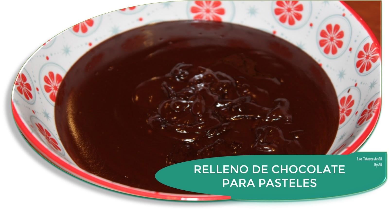 RELLENO DE CHOCOLATE PARA PASTELES