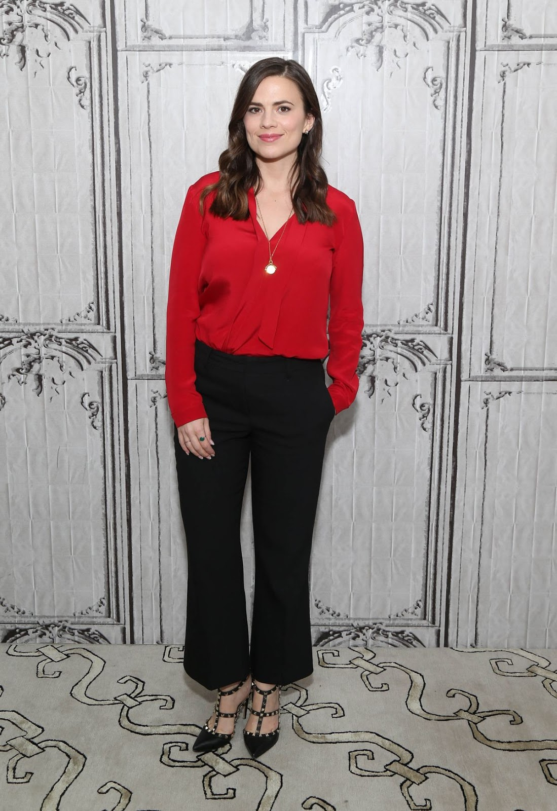 Hayley Atwell at AOL Build Speaker Series