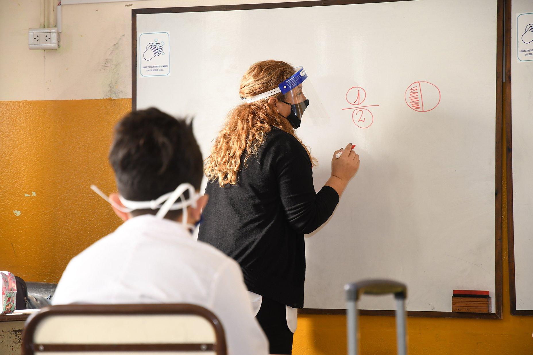 clases presenciales en La Pampa
