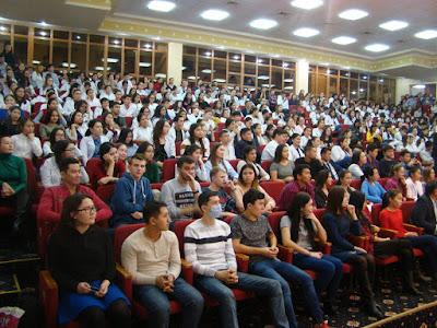 student life in ASTANA MEDICAL UNIVERSITY