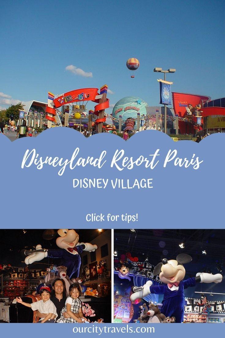 Disneyland Resort Paris, Disney Village