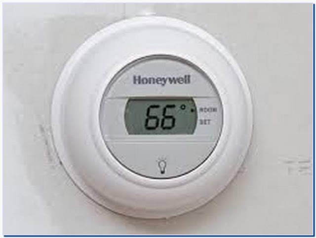 Thermostat with password control
