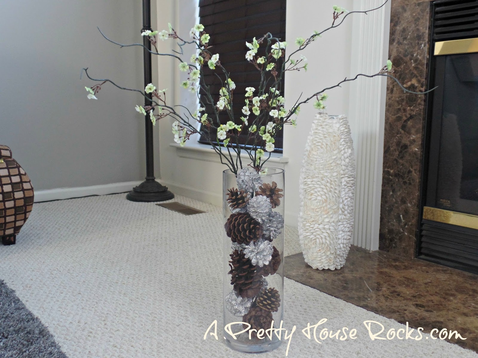 Just a little decor for after christmas and before spring for Home decorations after christmas