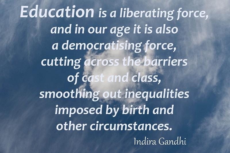 Indira Gandhi Quotes Learn Ec English