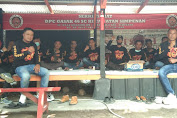 Silaturahmi Ke Sekertariat Gasak 46SC Di Kecamatan Simpenan Untuk Mempererat Tali Persaudaraan
