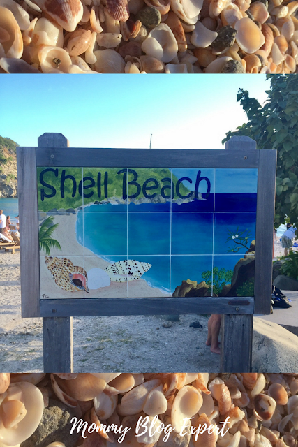 St Barts Shell Beach Caribbean