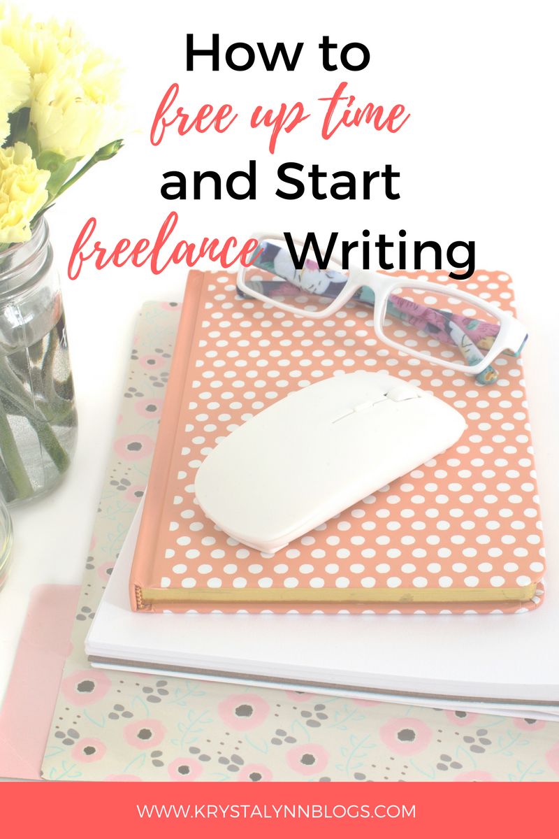 If you want to become a freelance writer, you may be wondering just how you can free up time in your day to do it. Whether you work full time or you attend school and work, there is always time to freelance and write. Below, we will go over some ways that you can quickly and easily find time or free up time to jot down some words and score some extra cash.