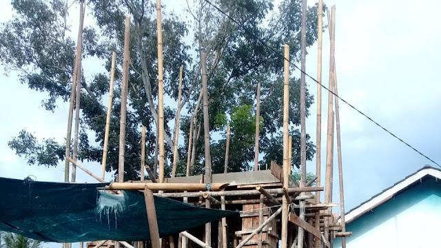 Diduga Desa Sri Agung Kecamatan Sungkai Jaya Kerjakan Proyek Siluman
