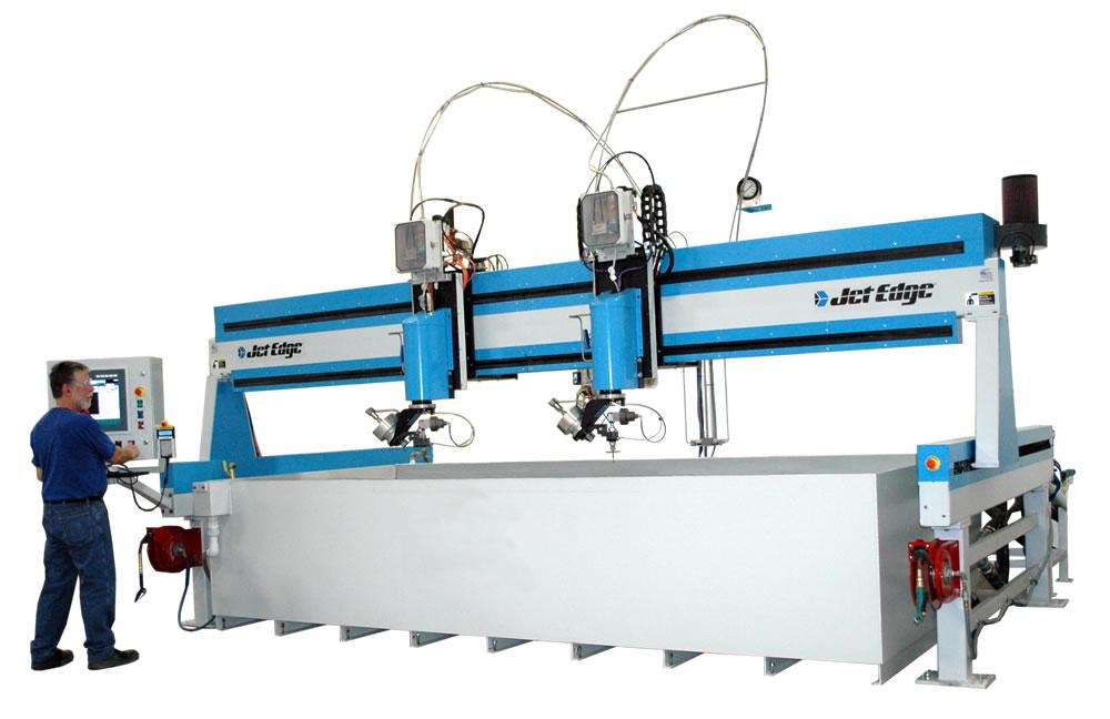 Water Jet Machines by Jet Edge: Machinery Forum Representing Jet