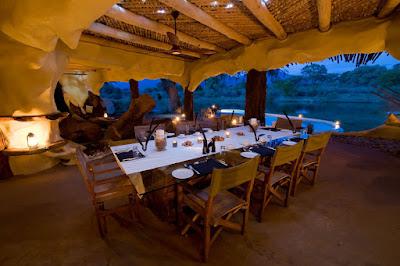 ห้องรับประทานอาหารแบบมนุษย์ถ้ำ