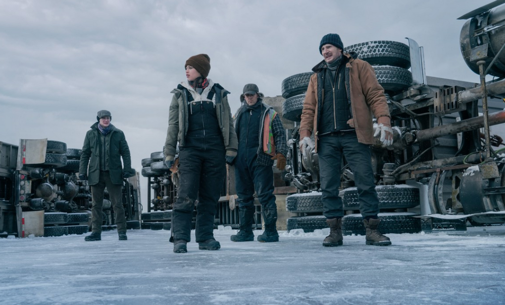The Ice Road, Action, Adventure, Crime, Drama, Thriller, Netflix, Movie Review by Rawlins, Rawlins GLAM, Rawlins Lifestyle