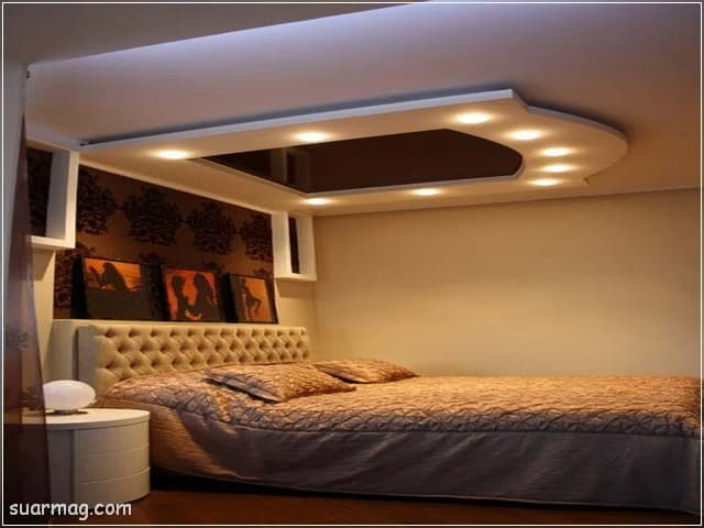 اسقف جبس بورد حديثة غرف نوم 2   Bedrooms Modern Gypsum Ceiling 2