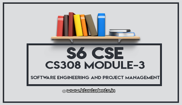 ktu notes for cs308 software engineering and project management m3