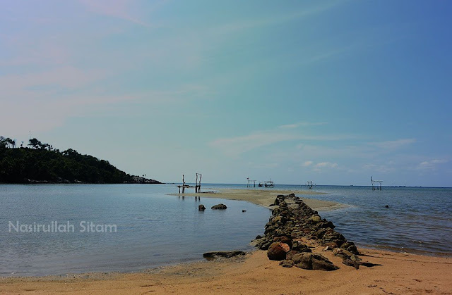 Suasana pagi di Pantai Annora Karimunjawa
