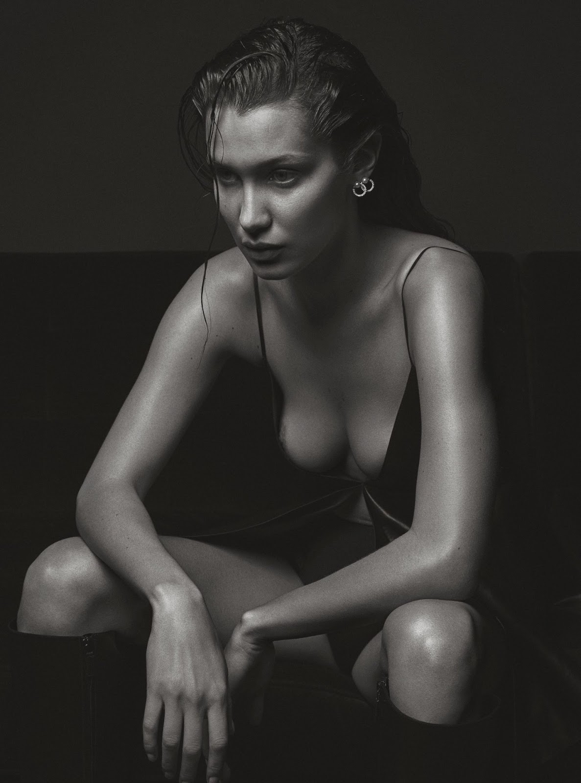 Bella Hadid naked for V Magazine photoshoot