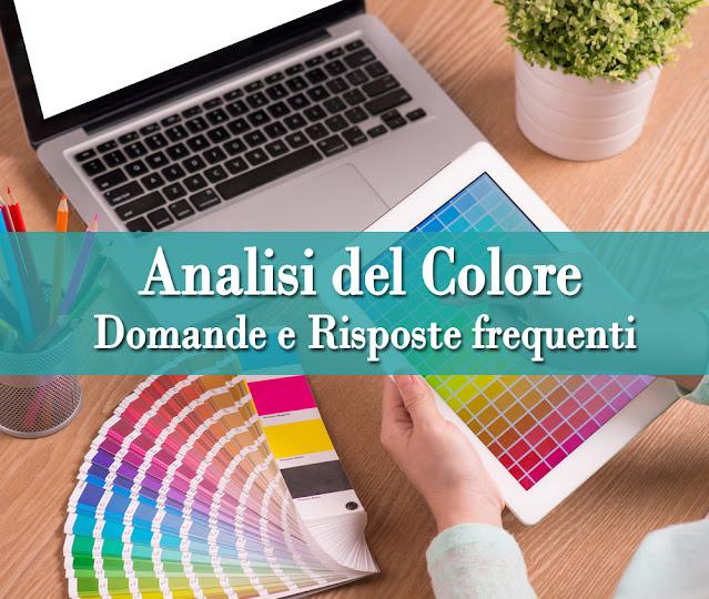 FAQ Analisi del Colore online: domande e risposte frequenti