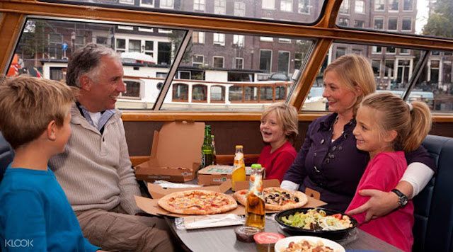 Amsterdam Pizza or Burger Cruise