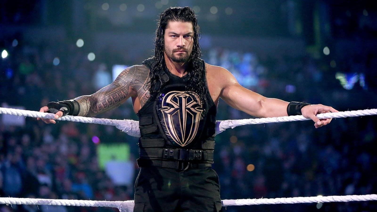 Roman Reigns Power Of Hand WWE HD Wallpaper