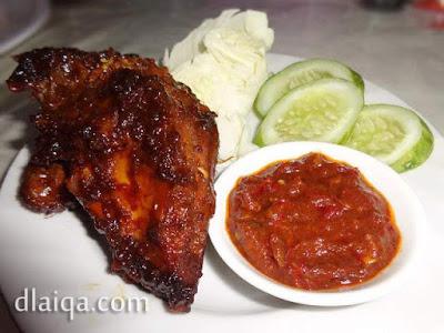 Ayam Panggang Manis Sederhana ala Rika