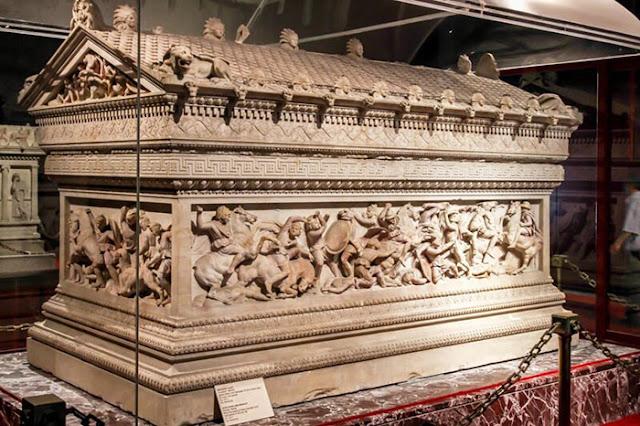 túmulo de Alexandre, o Grande