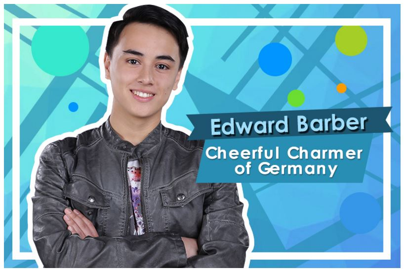 Edward Barber, 16 (Cheerful Charmer of Germany)